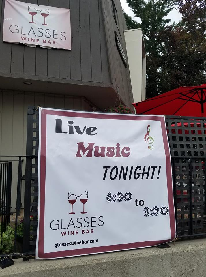 Cancelled! Music w/ Martin & Vargas @ Glasses Wine Bar