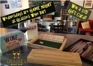 Game Night! @ Glasses Wine Bar