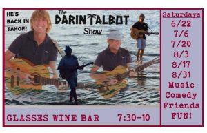 Darin's Back!!! Live Music! @ Glasses Wine Bar