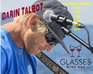 Live Music with Darin Talbot (Mr. Tahoe) @ Glasses Wine Bar