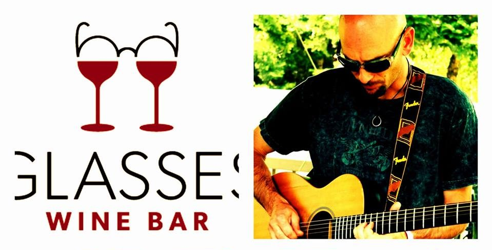 Live Music with Mikey Psarras @ Glasses Wine Bar