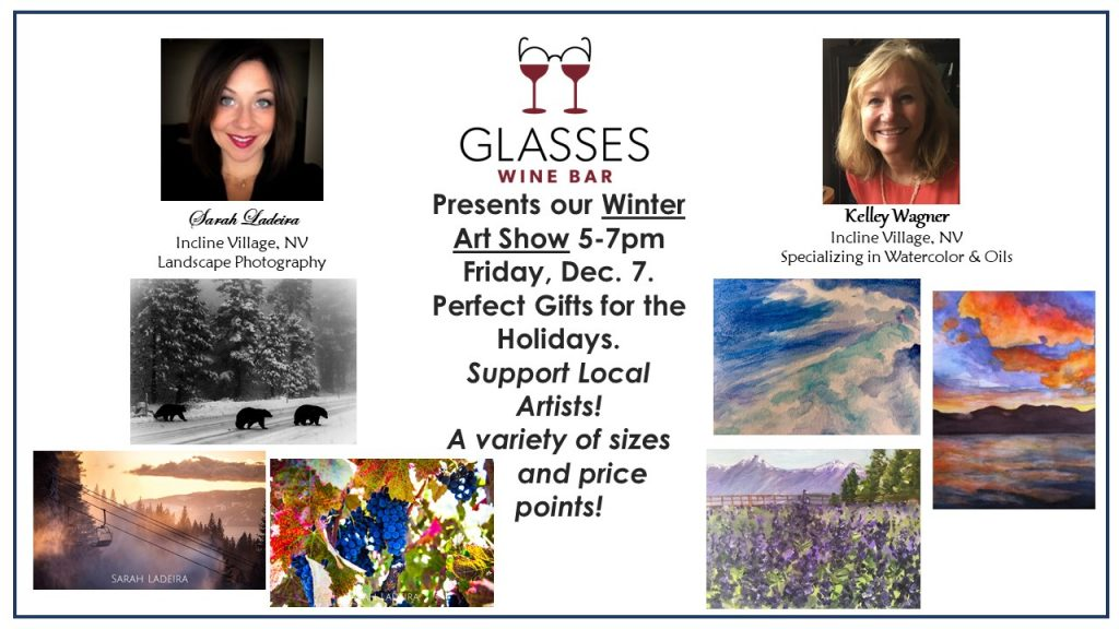 Winter Art Show @ Glasses Wine Bar