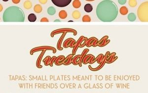 Tapas Tuesday @ Glasses Wine Bar