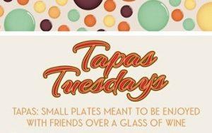 Tapas Tuesday @ Glasses Wine Bar