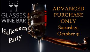 Halloween Party--Reserve NOW!